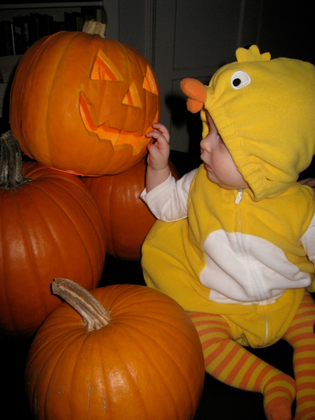 Greta's first Halloween #5